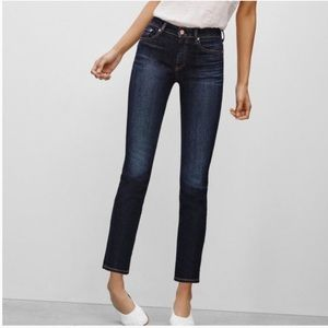 Aritzia The Castings High Rise Straight Crop Jeans